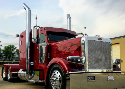 "Jason Koch's custom Peterbilt ""Redemption"""