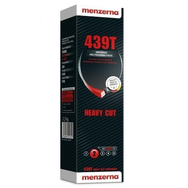 Menzerna 439T Universal Metal Heavy Cut Metal Polishing Compound